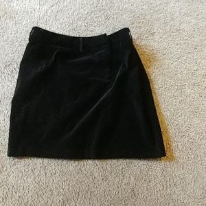 Attention black skirt